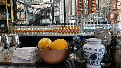 Blinking Owl Distillery in Orange County, California