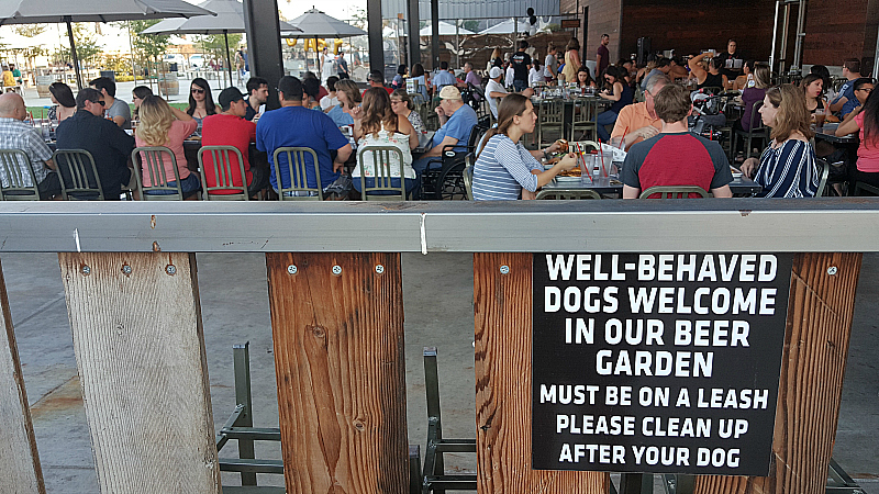 Dust Bowl Brewing Company Brewery Taproom in Turlock, California