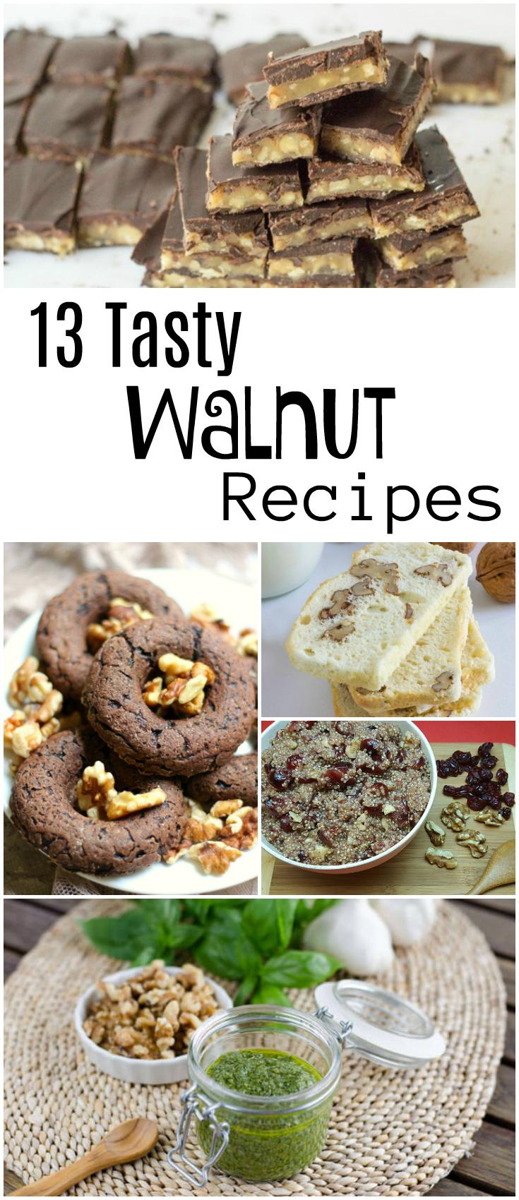 Walnut Farm Tour and 13 Tasty Walnut Recipes