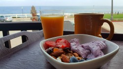 Breakfast (and more!) at Pantai Inn, La Jolla - San Diego, California Hotel
