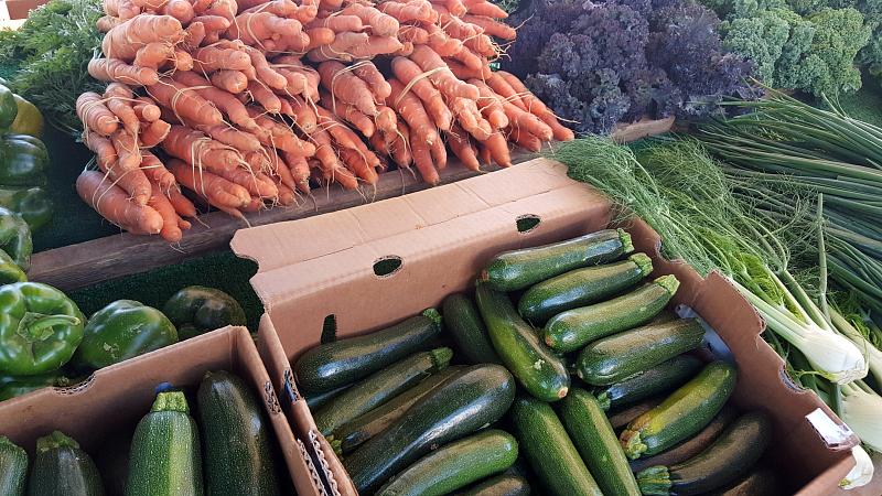 Veggies at the Santa Maria Certified Farmer's Market