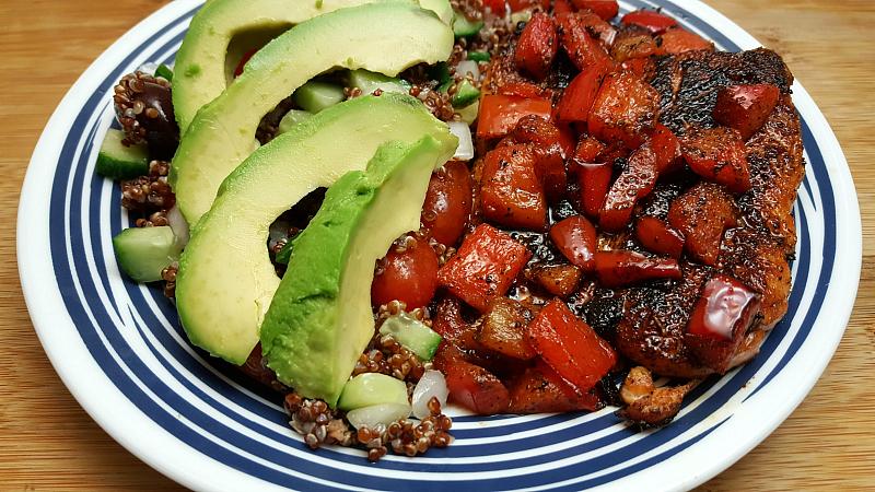Easy & Delicious Peruvian Salmon Meal