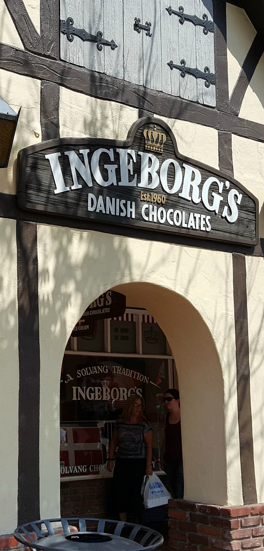 Ingeborgs Danish Chocolate Shop in Solvang, California