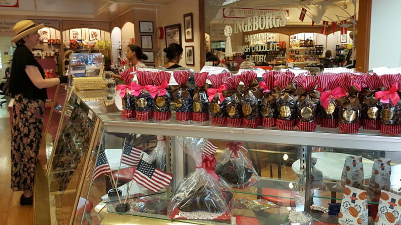 Ingeborg's Danish Chocolate Shop in Solvang, California