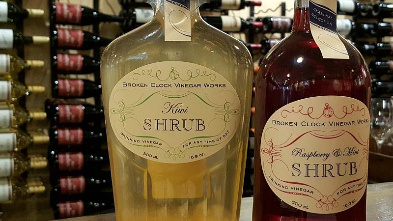 Shrub Tasting at Wandering Dog Wine Bar