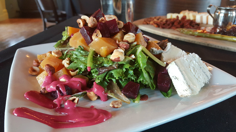 Roasted Beet Salad at Succulent Cafe Solvang