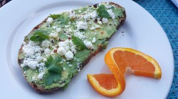 Avocado Toast - Breakfast at Fresco Valley Cafe in Solvang USA