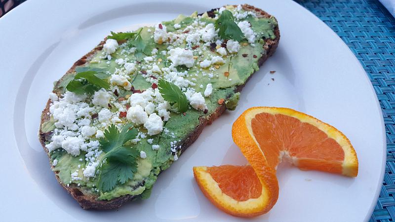 Avocado Toast - Breakfast at Fresco Valley Cafe in Solvang USA
