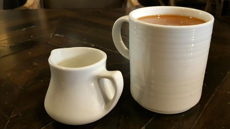 Coffee at The Century Room Restaurant at Historic Santa Maria Inn