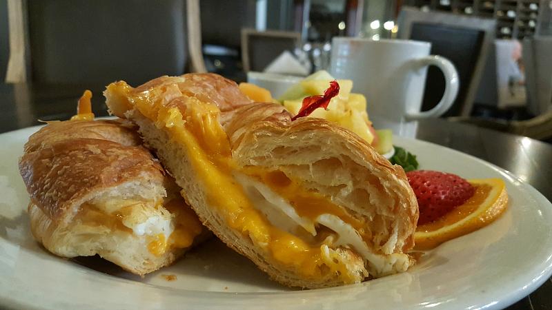 Breakfast at The Century Room Restaurant at Historic Santa Maria Inn