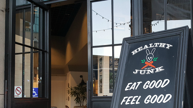 Healthy Junk Vegan Restaurant in Anaheim