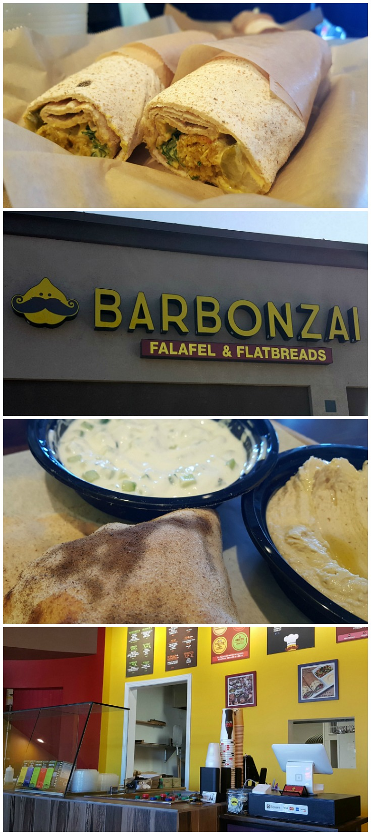 Barbonzai Falafel and Flatbreads in Lake Forest