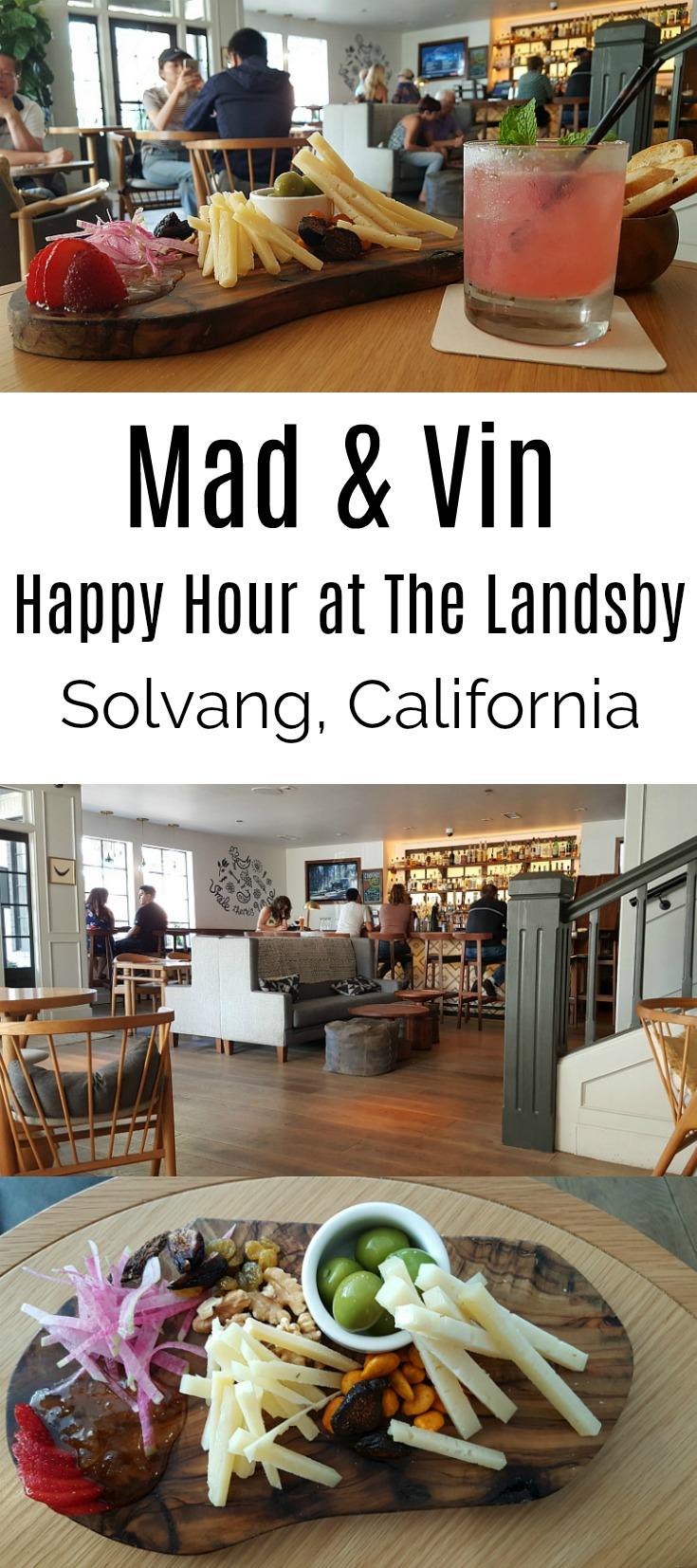 Happy Hour at The Landsby's Mad and Vin in Solvang