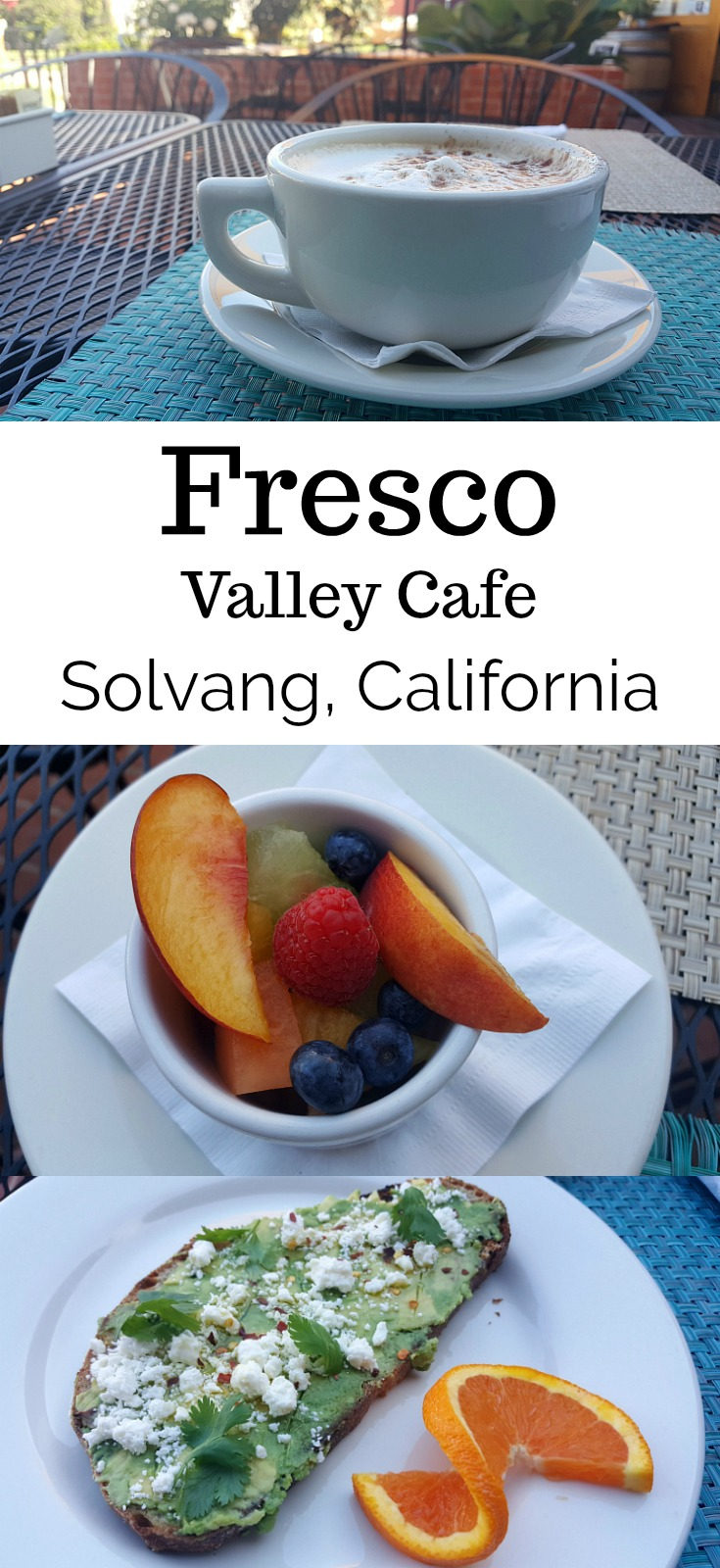 Breakfast at Fresco Valley Cafe in Solvang USA