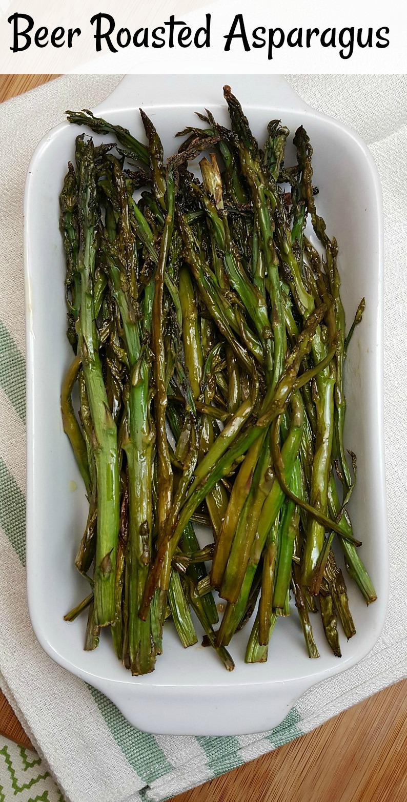 Beer Roasted Asparagus Recipe