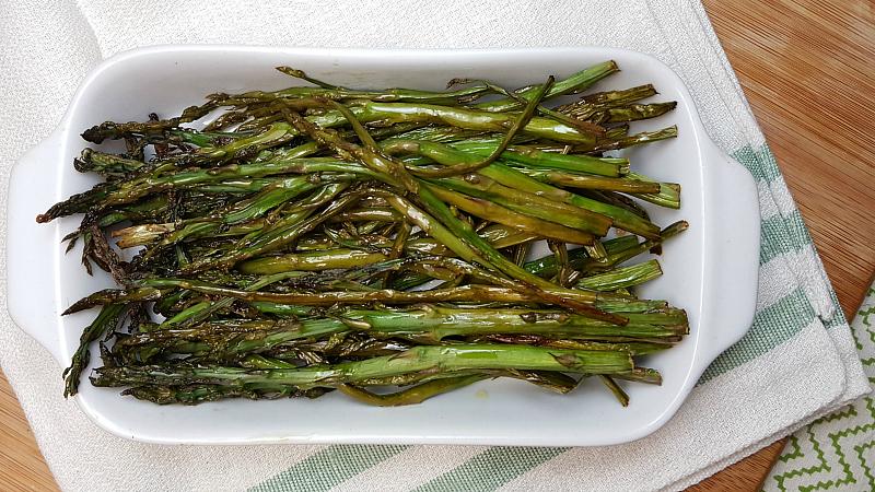 Beer Roasted Asparagus