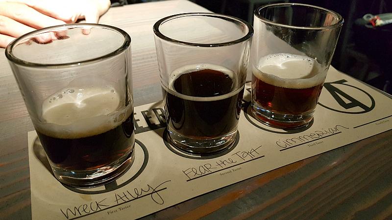 Craft Beer Flight Karl Strauss