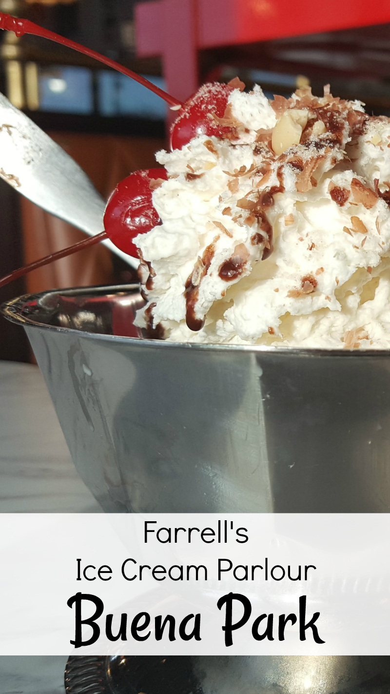 Farrells Ice Cream Parlour Buena Park California