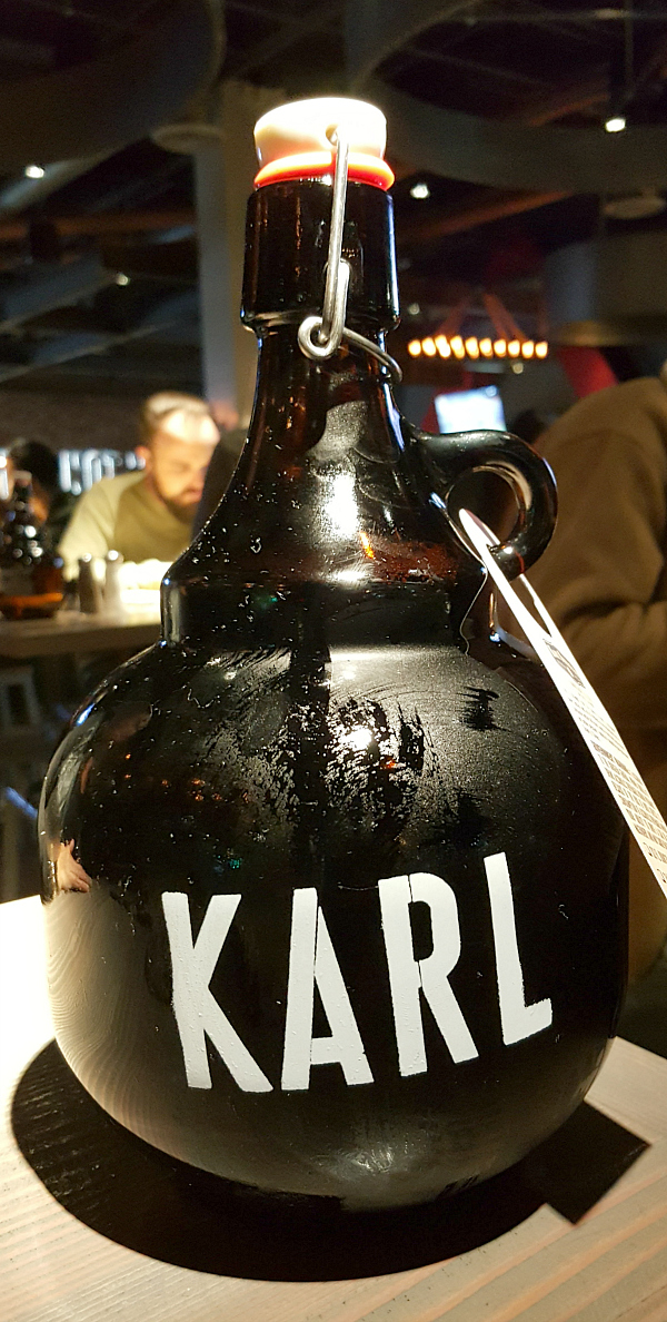 Karl Strauss Peanut Butter Cup Porter Growler