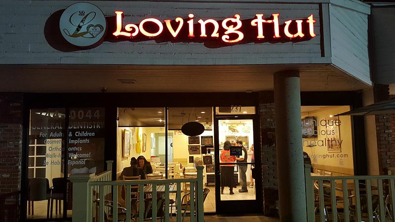 Loving Hut Vegan Restaurant in Orange Count