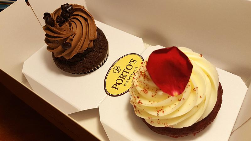 Portos Bakery Cupcakes