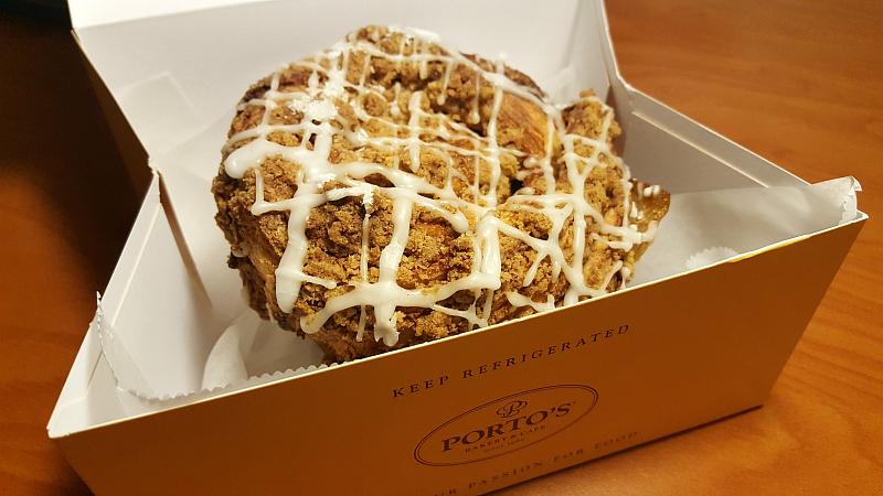 Portos Breakfast Pastry