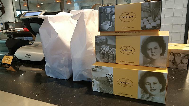 Portos Buena Park Bread and Pastries To Go