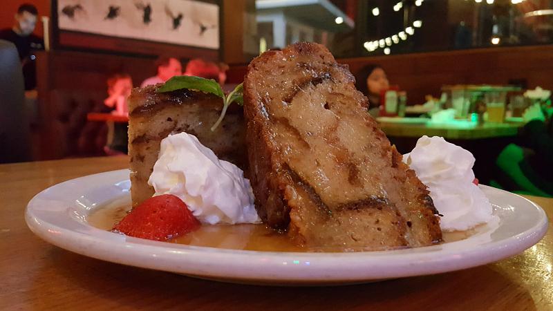 Whiskey Bread Pudding Dessert