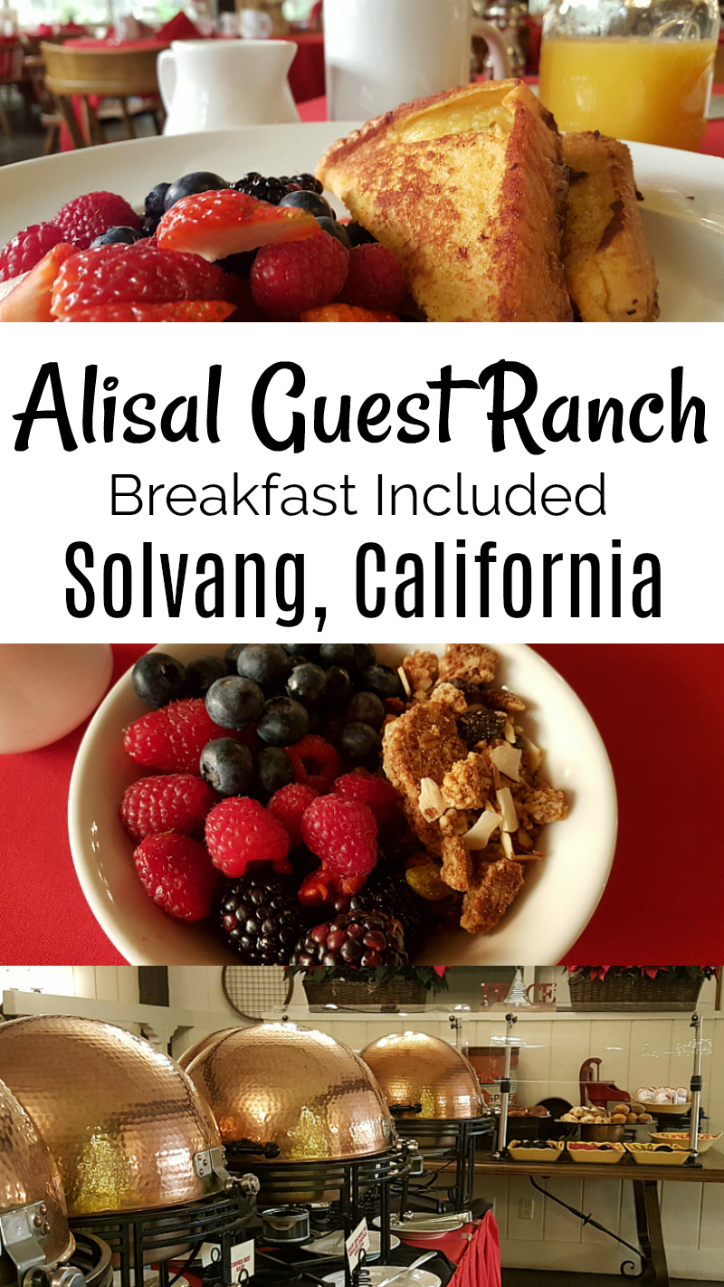 Alisal Ranch Breakfast at The Ranch Room Alisal Guest Ranch and Resort Solvang, California