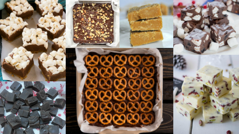 Recipe Round Up - Best Fudge Recipes