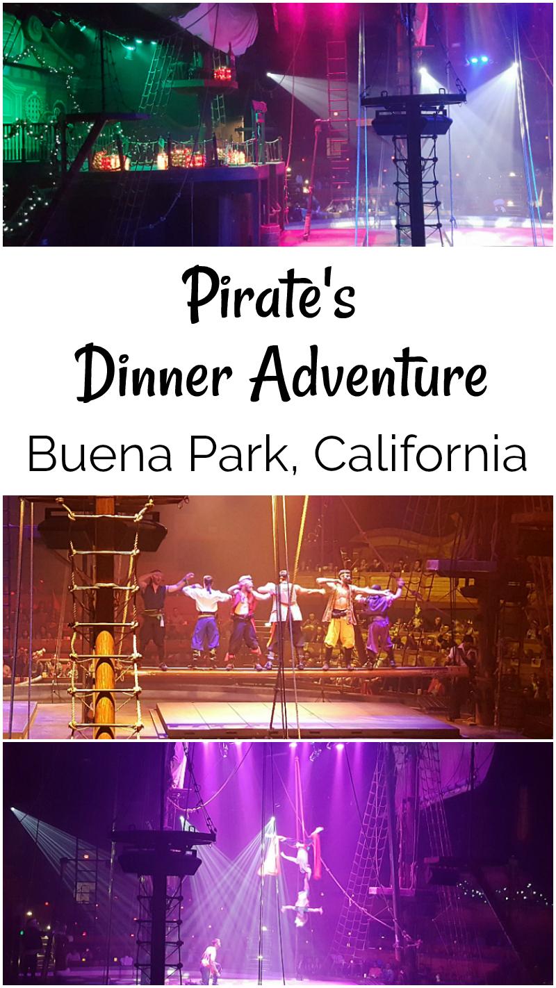 Pirates Dinner Adventure Buena Park Orange County Dinner Theater