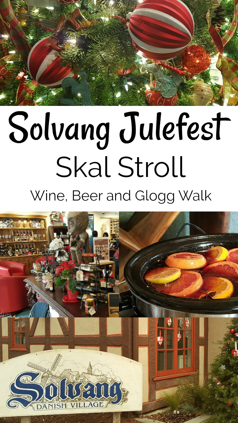 Solvang Julefest Skal Stroll Craft Beer Glogg and Wine Walk