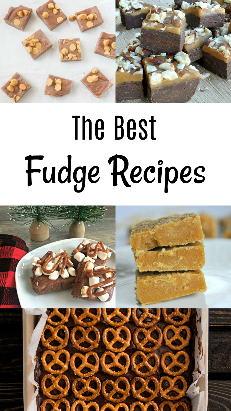 The Best Fudge Recipes - Food Blogger Recipe Round Up