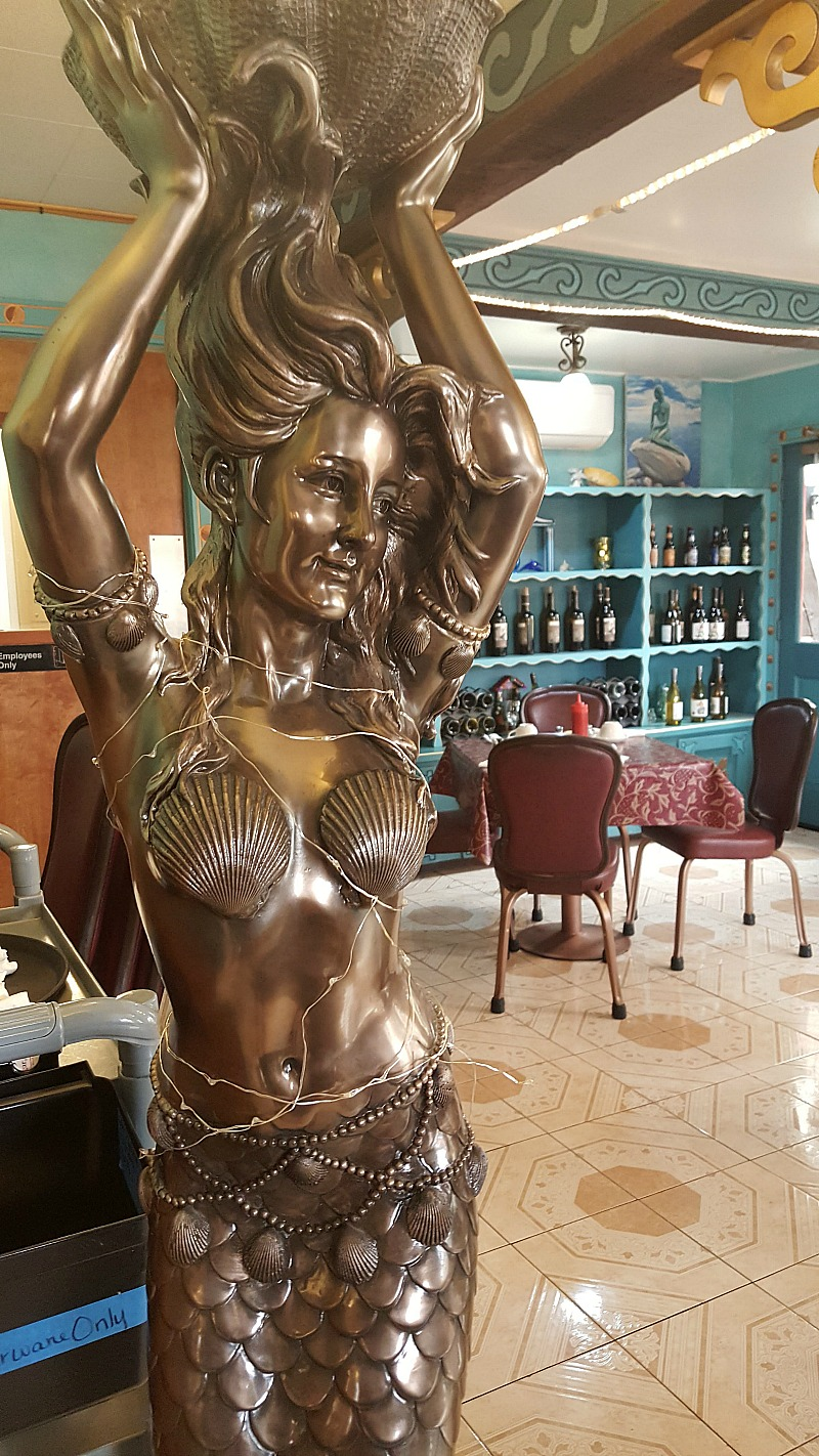The Little Mermaid Restaurant Solvang - La Sirenita