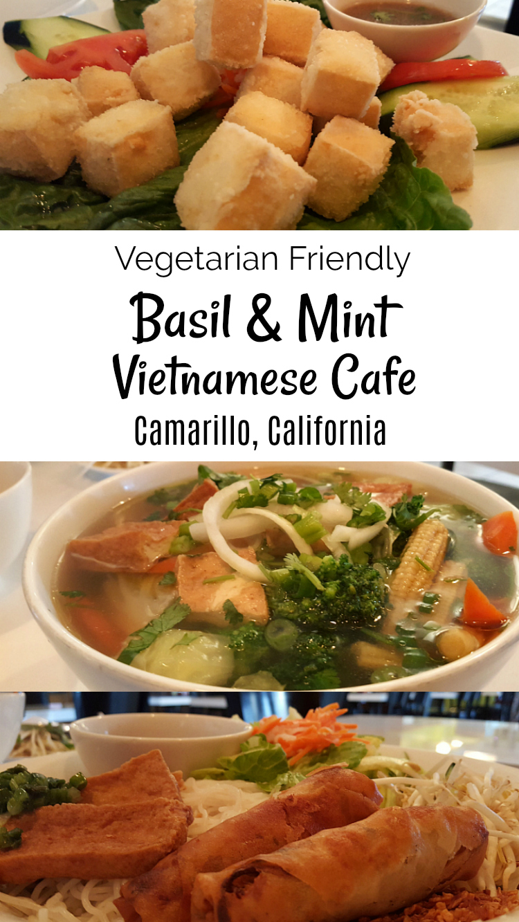 Vegetarian Friendly Camarillo Vietnamese Restaurant - Basil and Mint Vietnamese Cafe
