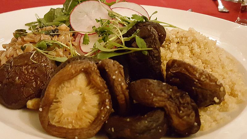 Vegetarian Ranch Room Dinner