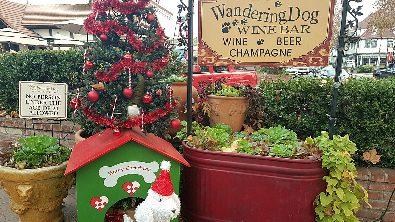 Wandering Dog Wine Bar Solvang