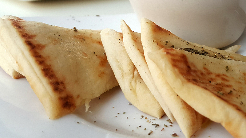 fresh greek pita bread solvang petros restaurant