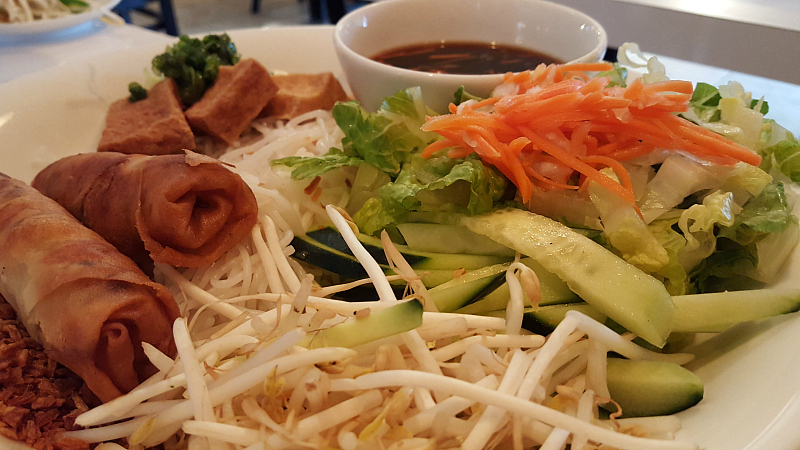 vegetarian vietnamese lunch basil and mint camarillo