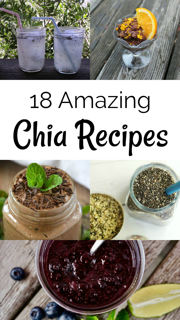 Chia Recipes - 18 Amazing Recipes Using Chia Seeds