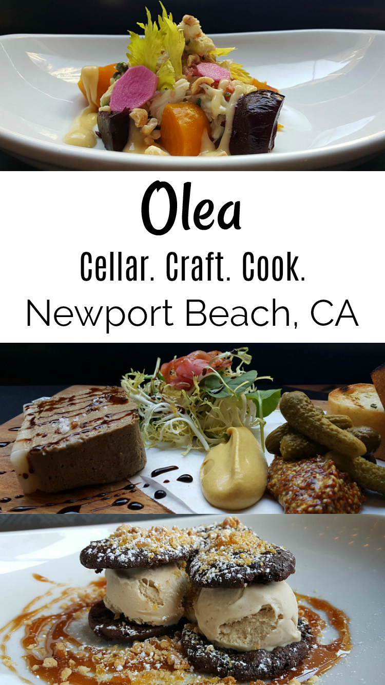 Olea Newport Beach Restaurant - Cellar Craft Cook