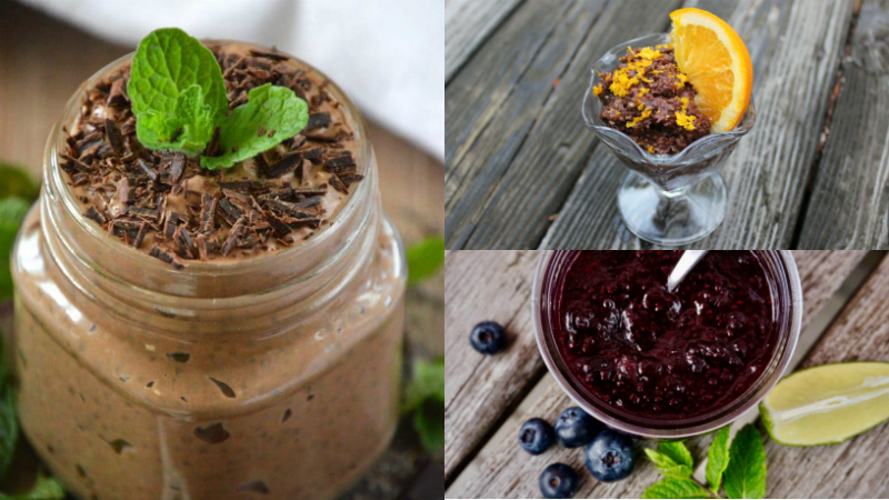 Pudding Cereal Jam Chia Recipes