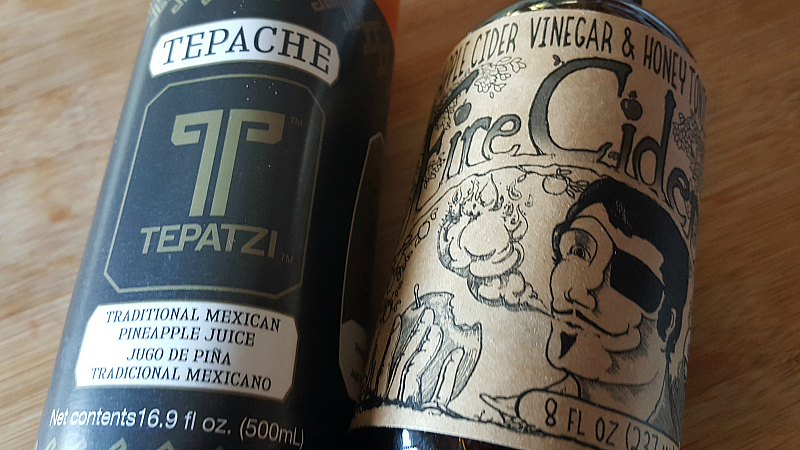 Tepache Tepatzi and Fire Cider