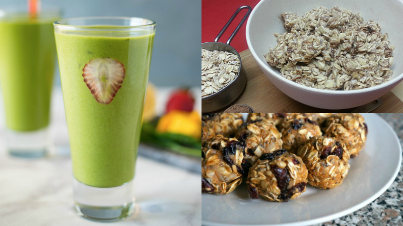 detox oats bites chia recipes