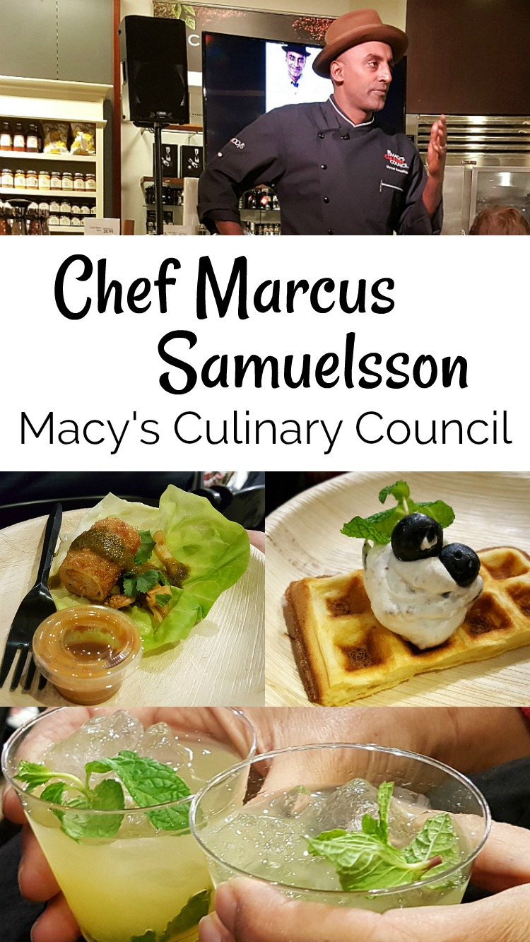 Chef Marcus Samuelsson Culinary Council Event at Macy's Home South Coast Plaza - Costa Mesa, California