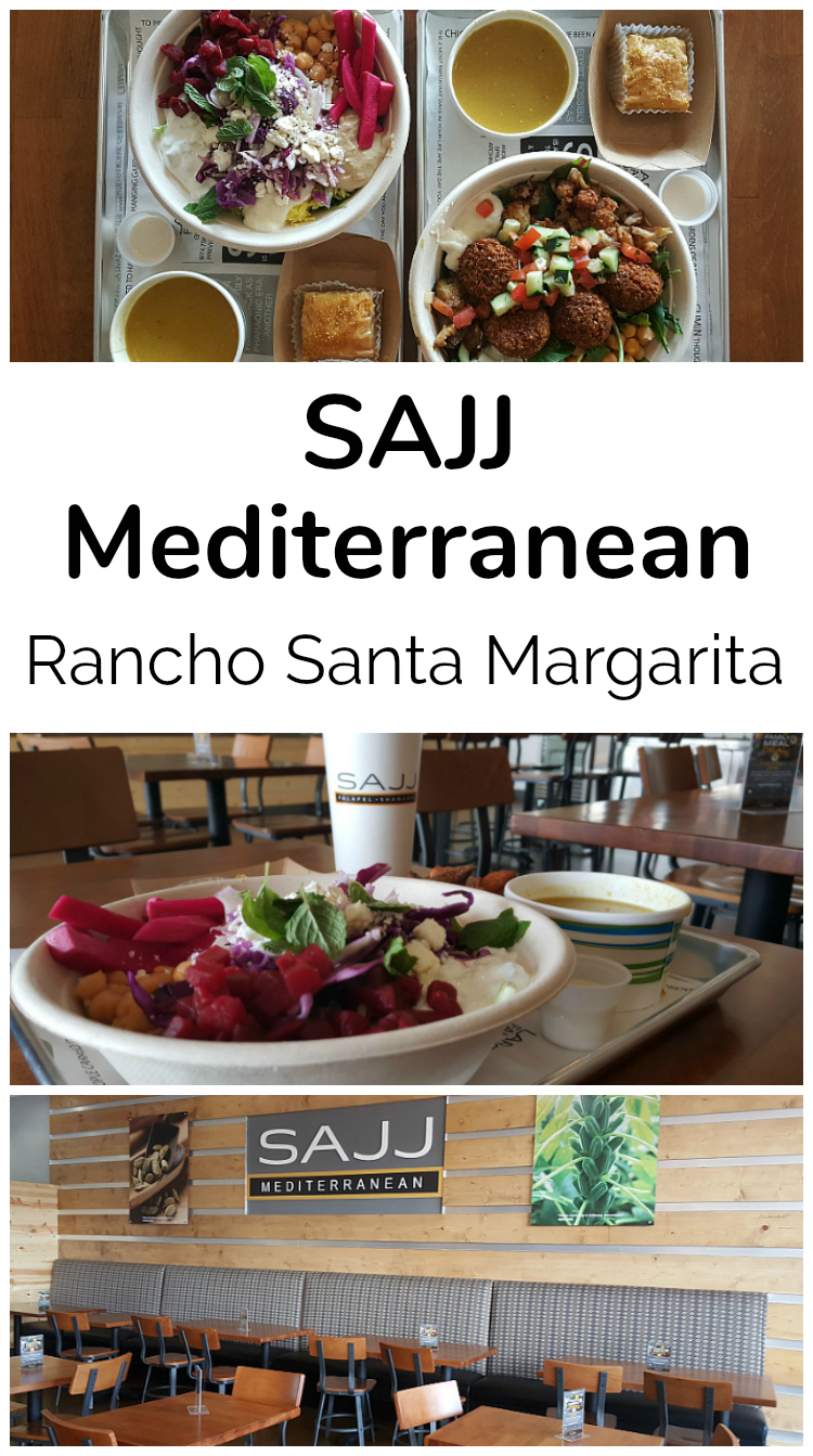 SAJJ Mediterranean Restaurant - Rancho Santa Margarita, California - Orange County