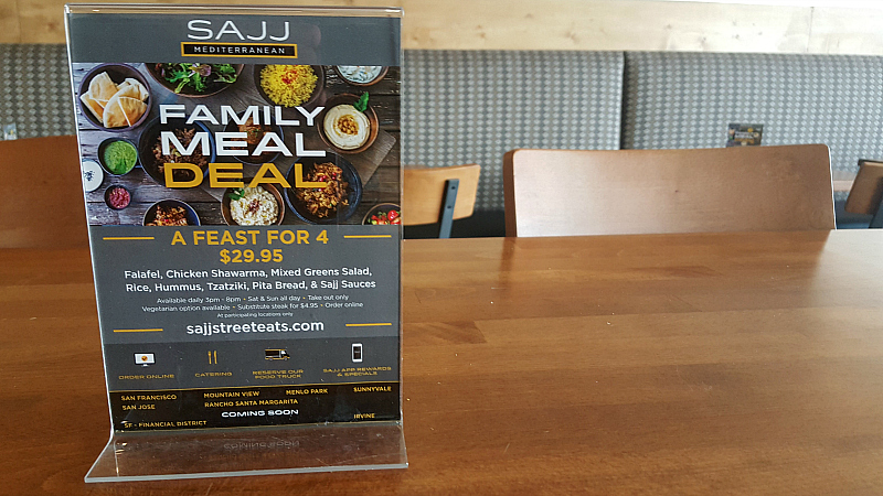 mediterranean family meal deal