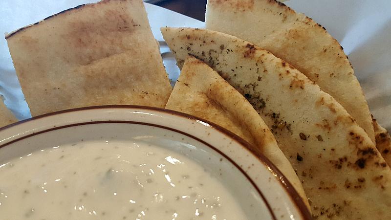 pita bread mezzet