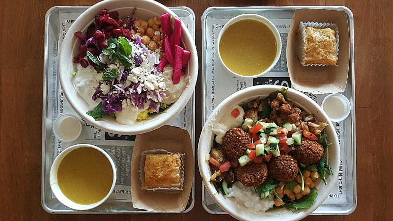 sajj mediterranean lunch bowls