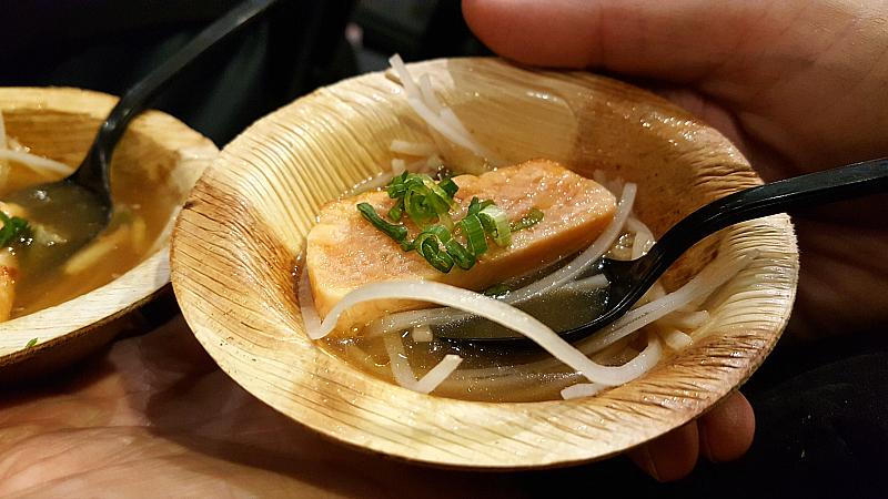 salmon in bone broth